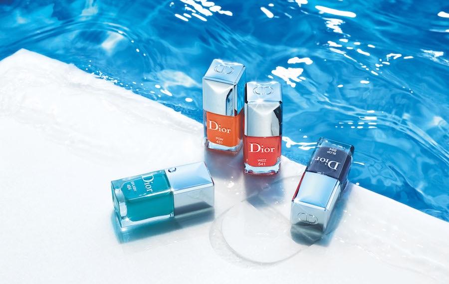Модные цвета лаков для ногтей на лето 2018, Dior