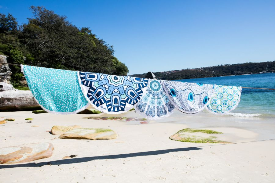 5 idee per godersi l'estate asciugamano roundie