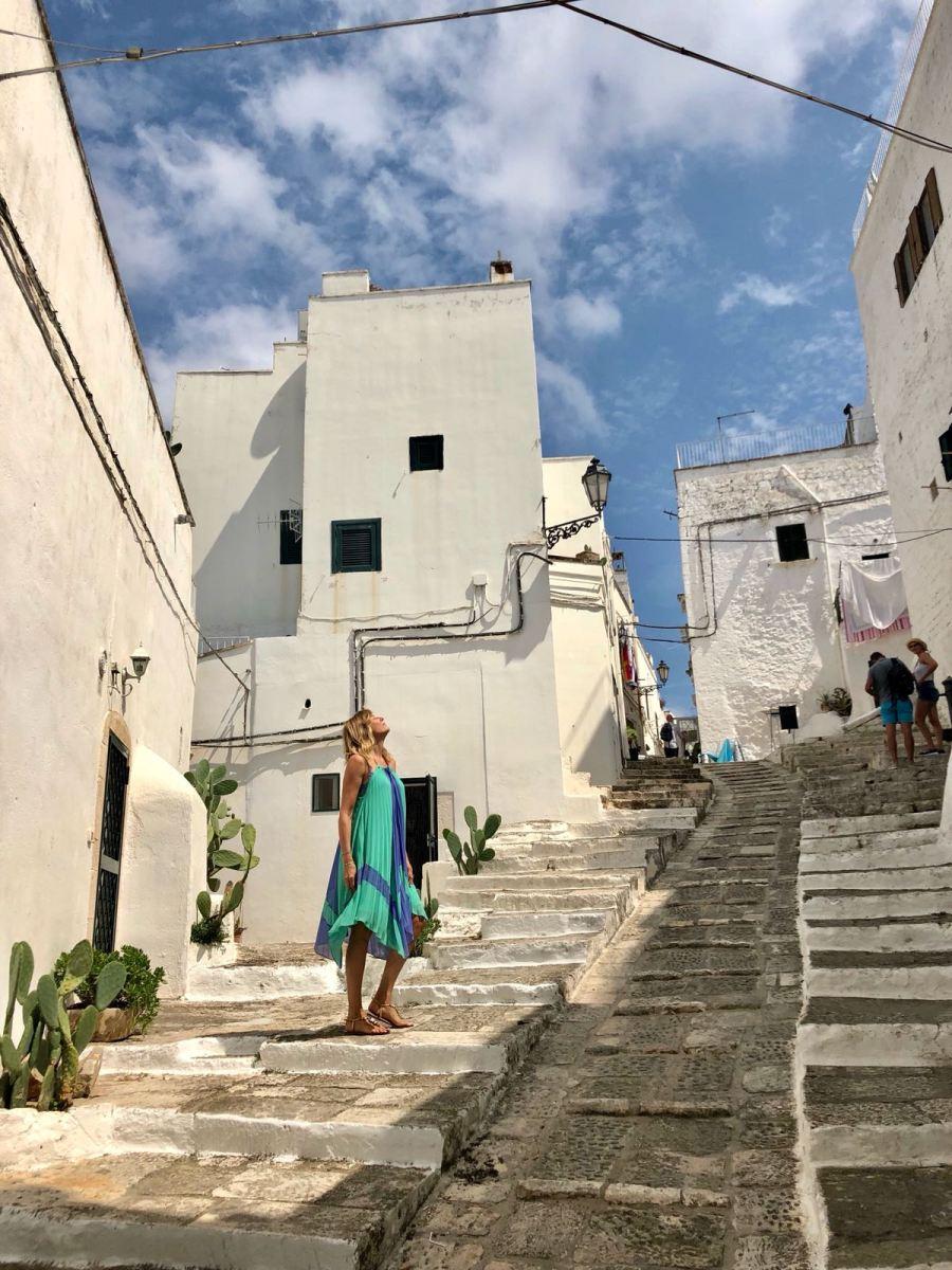 fuga di fine estate in Puglia Ntasha Stefanenko ostuni 3
