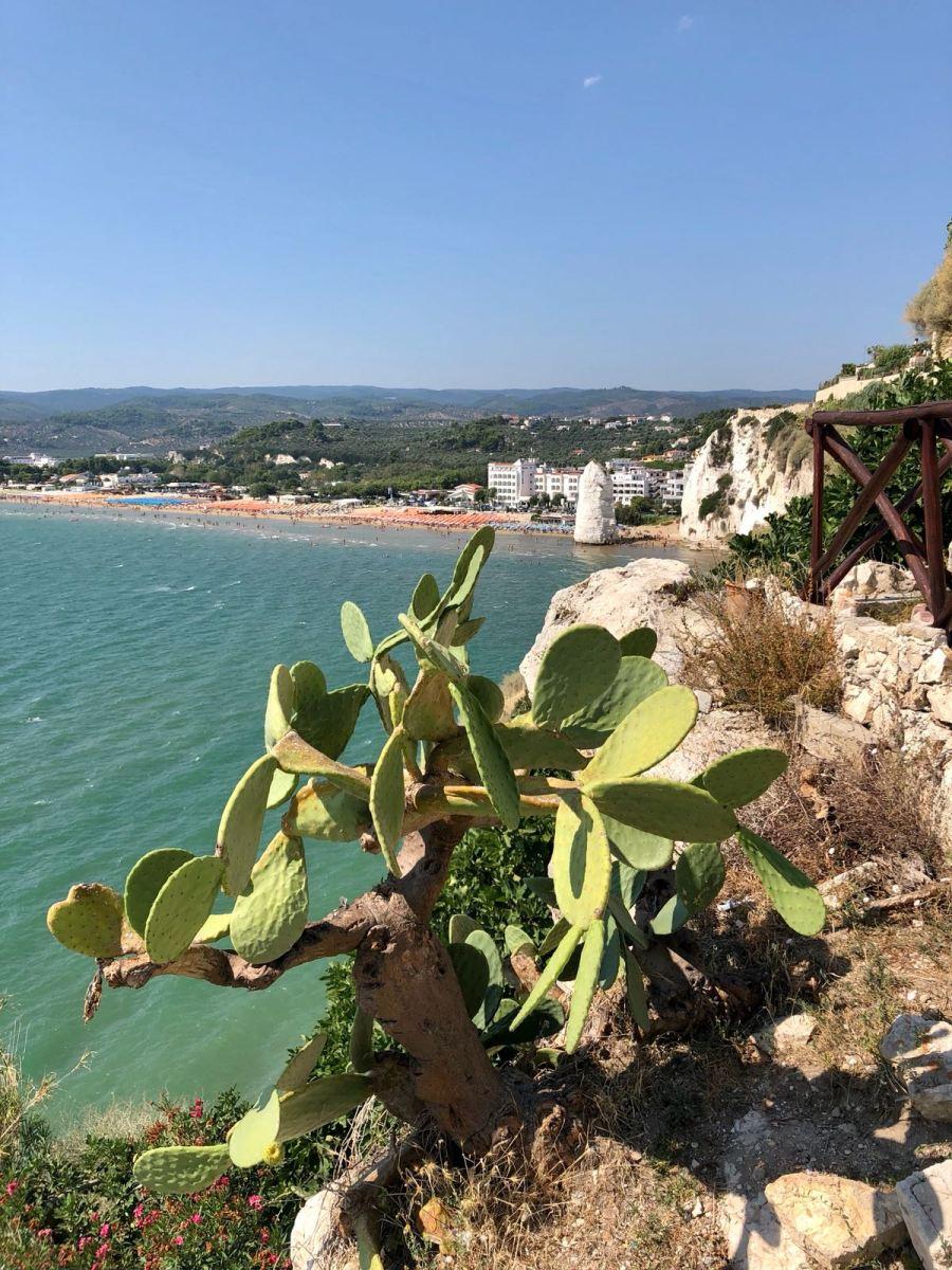fuga di fine estate in Puglia Ntasha Stefanenko vieste 3