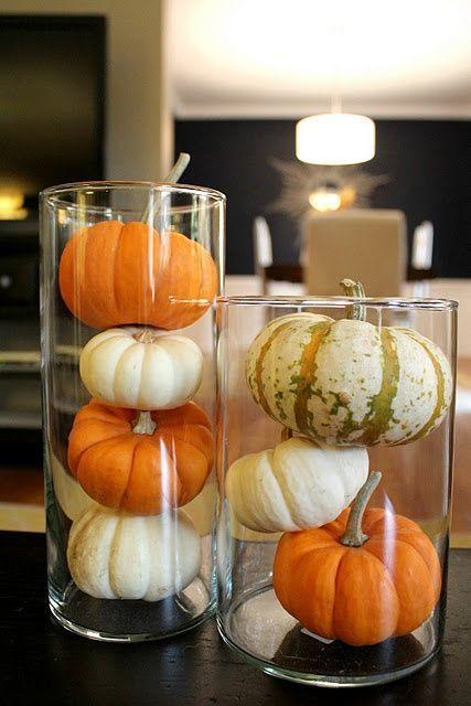 decorare la casa in autunno 9 idee zucche