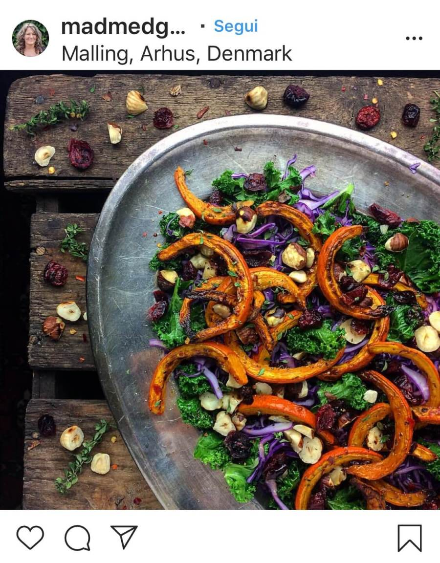 Insalate d'autunno broccoli