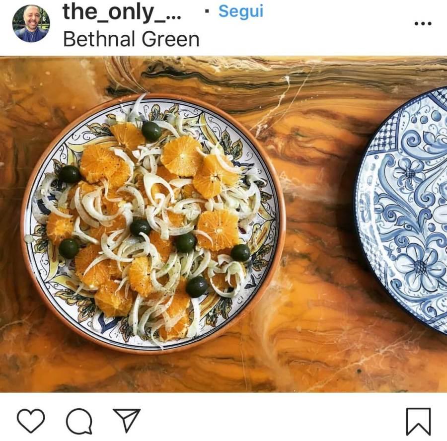 3 рецепта осенних салатов, с апельсинами