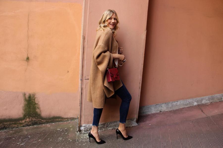 guida al cappotto perfetto Natasha Stefanenko