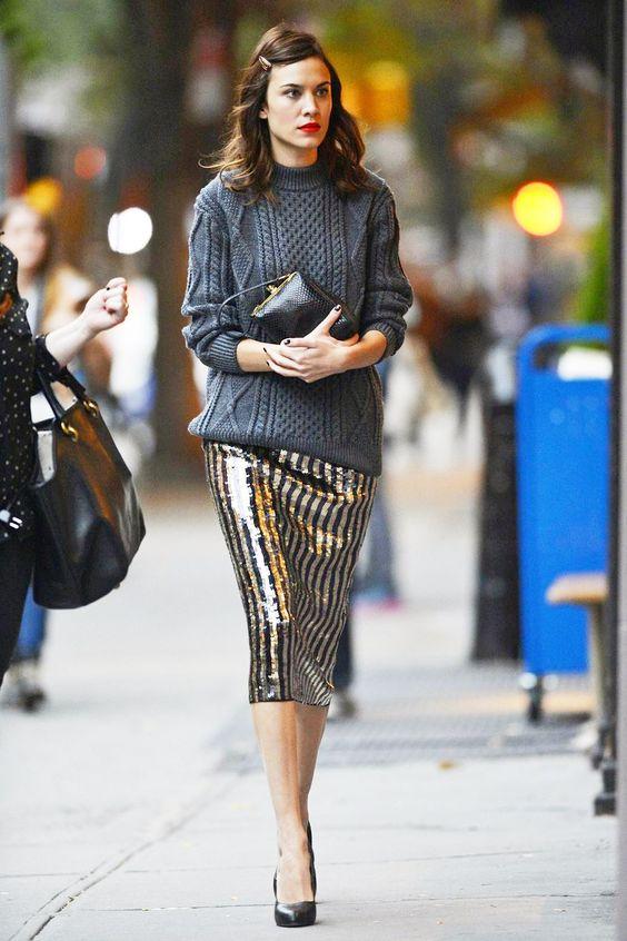 Come indossare le paillettes ad ogni eta glamradar.com