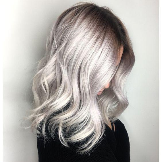 Тренды волос 2019, блонд