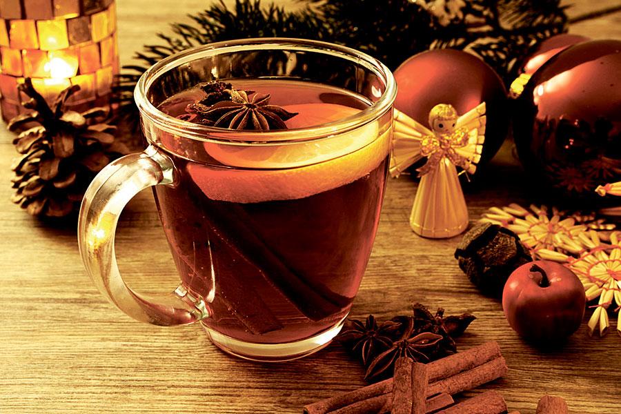Необычные рецепты чая, согревающий