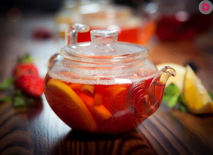 Необычные рецепты чая, цитрусовый