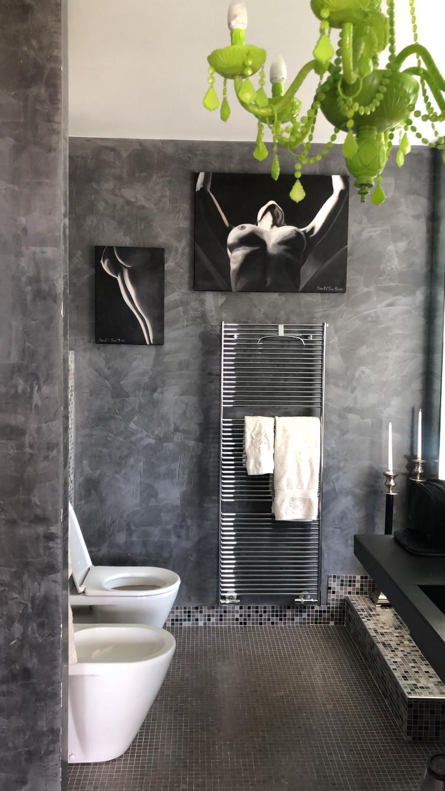 Идеи для ванной комнаты от Наташи Стефаненко, люстра