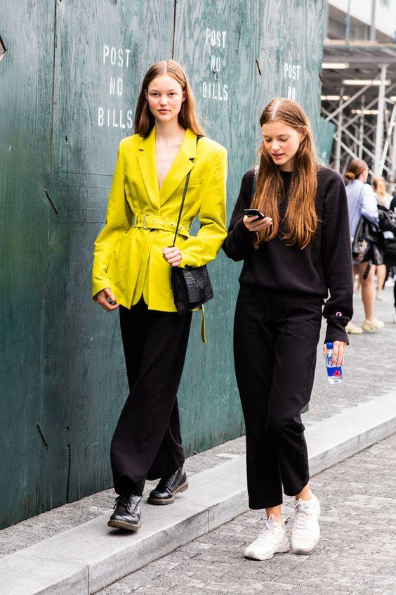 Giallo come indossare il colore della primavera estate 2019 m.vogue.fr