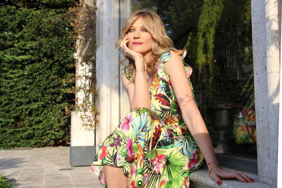 Платья с цветочными принтами, Наташа Стефаненко