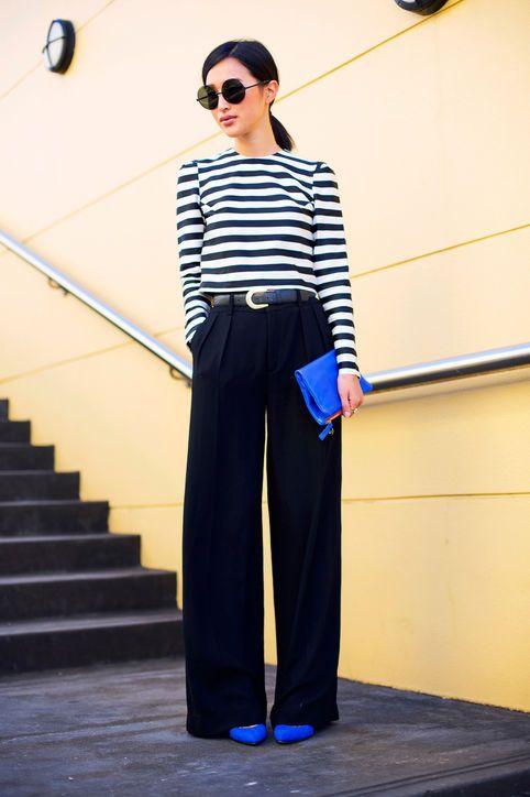 10 +1 modi di indossare la T shirt a righe glamour.com