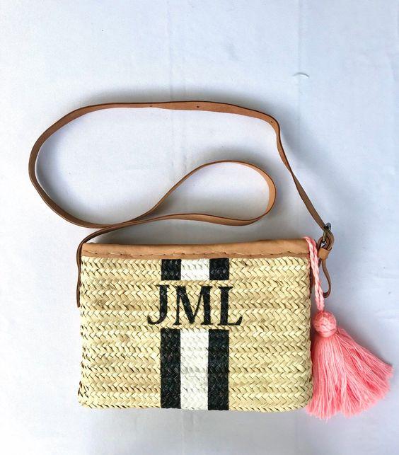 Come personalizzare la borsa in paglia etsy.me