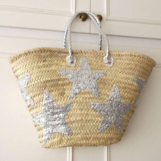 Come personalizzare la borsa in paglia roost-uk.com