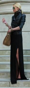 Chiodo in pelle: 5 modi per indossarlo femminile vestito sexy