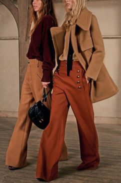 Le idee da copiare per indossare i colori dell'autunno collage vintage.com