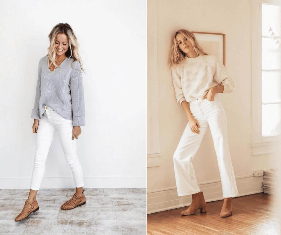 Come vestirsi con 50 sfumature di bianco 1