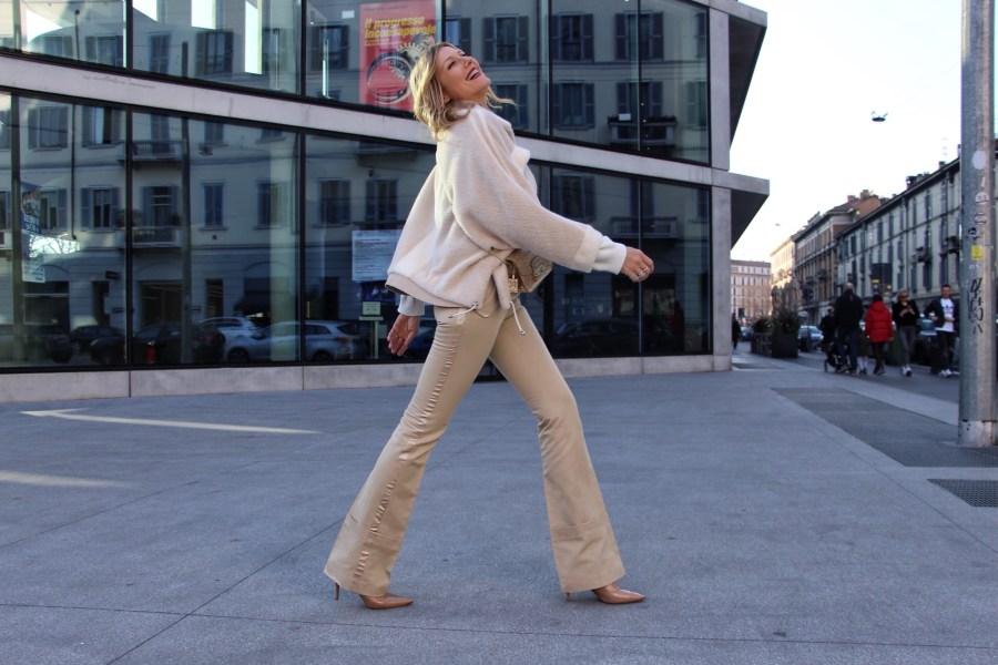 Vestirsi con 50 sfumature di bianco Natasha Stefanenko consigli