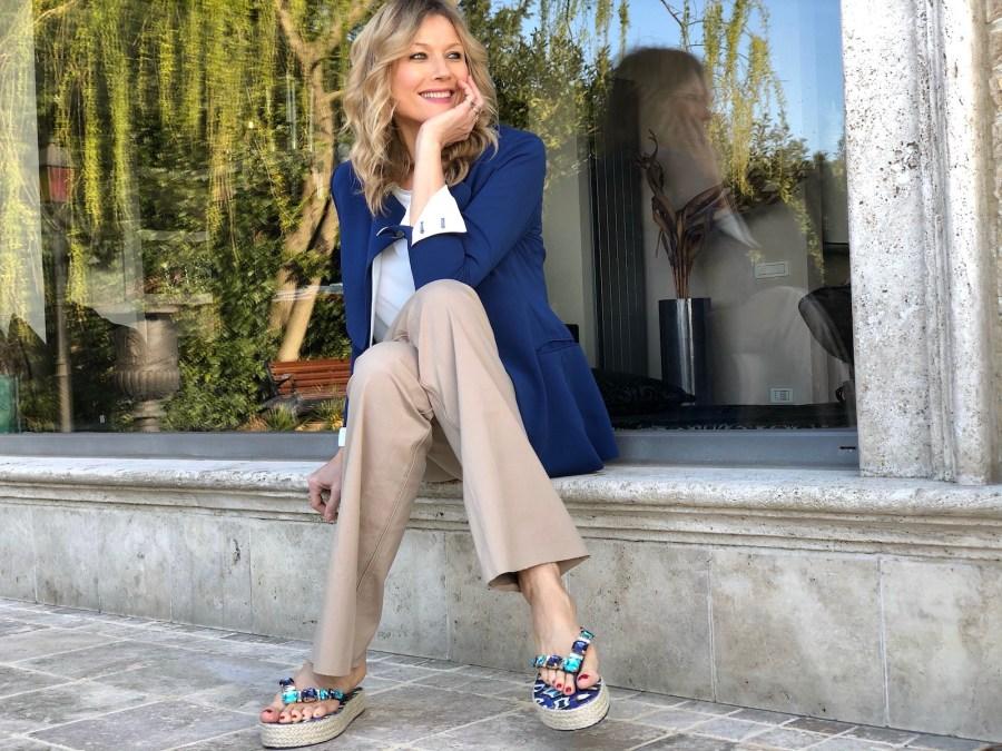 Как носить сланцы L.A. Water, идеи от Наташи Стефаненко