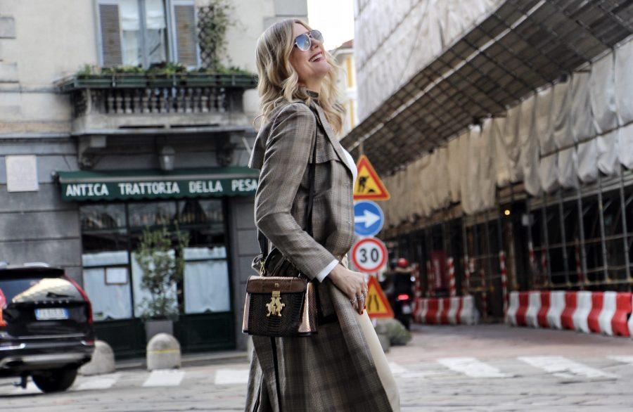 Come indossare il trench in 7 modi Natasha Stefanenko