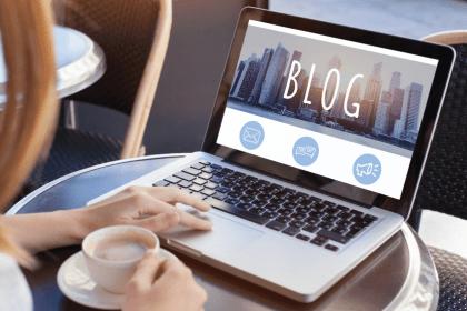 bloggen dood