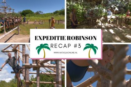 Expeditiie Robinson 2019 aflevering 3
