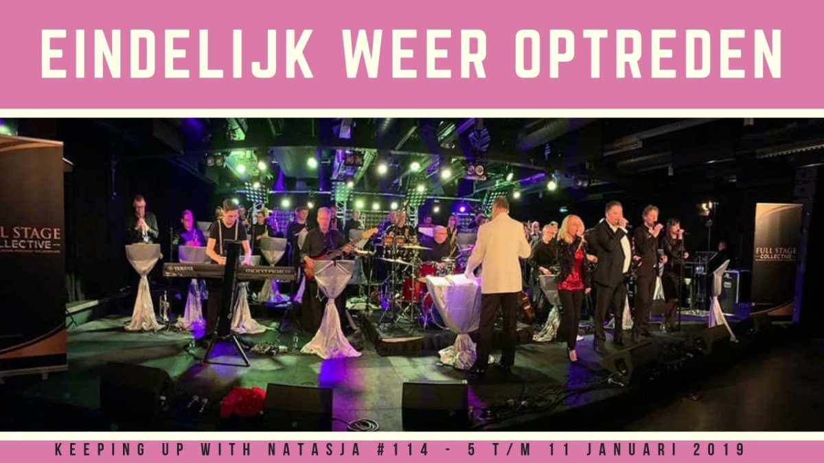 Winkelen, spelen met Odin & optreden met Full Stage Collective | Keeping Up With Natasja #114