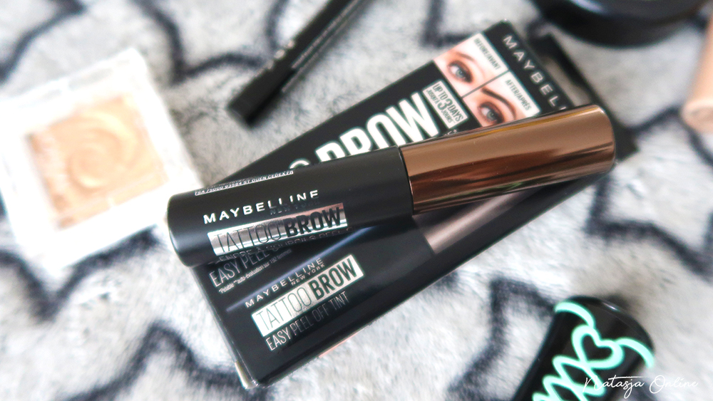 Maybelline Tattoo Brow Peel-Off gel 1