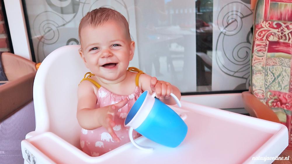 Drinkbeker tip voor baby's  | Munchkin Miracle 360° Oefenbeker