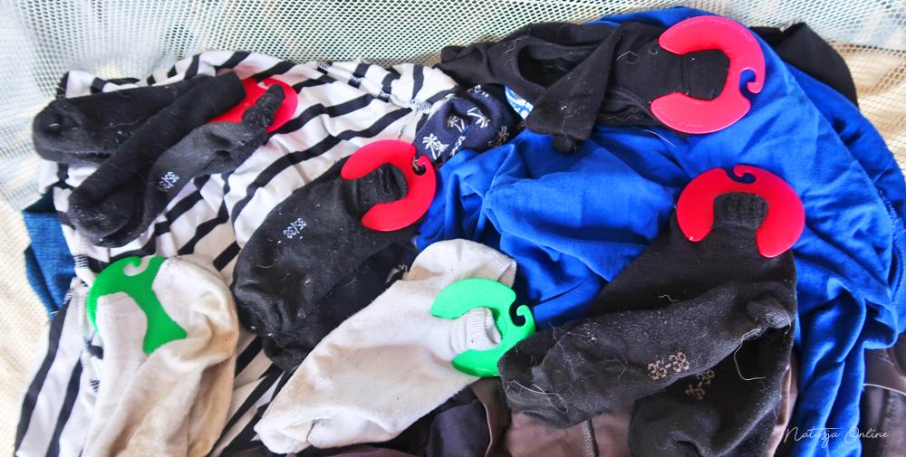 Sokkenclip sockstar wasmand