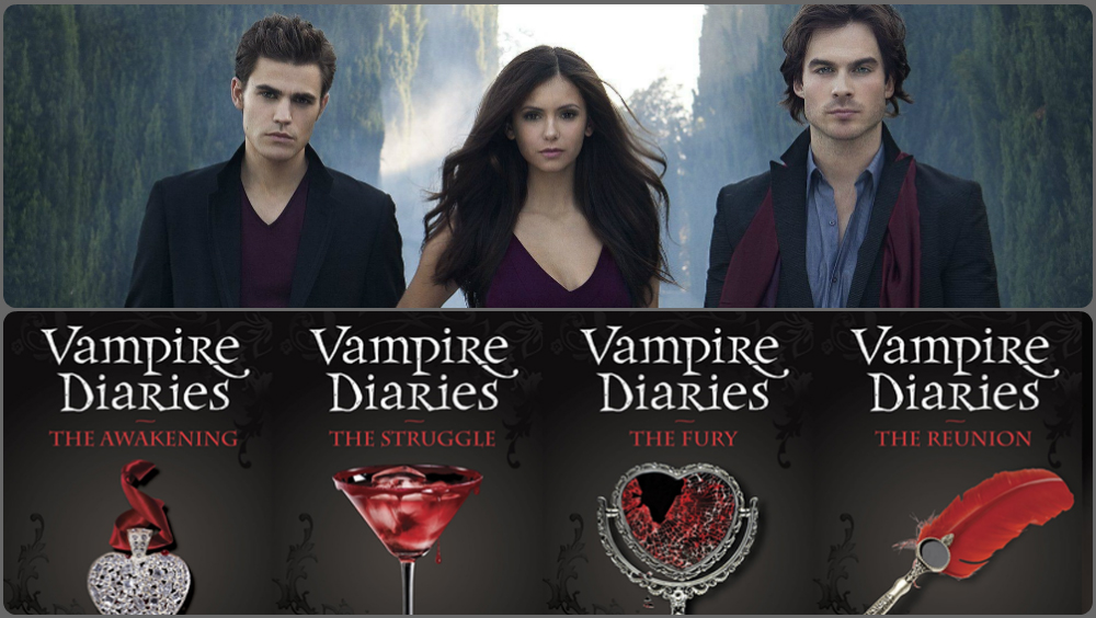The Vampire Diaries - TV serie VS boeken
