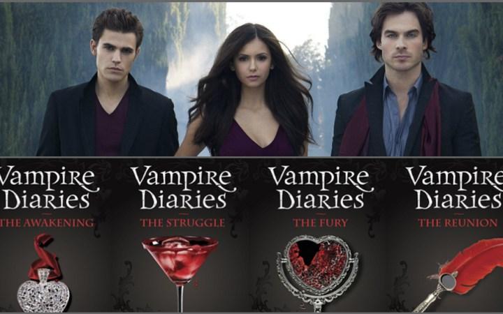 The Vampire Diaries - TV serie VS boeken