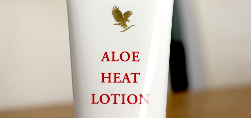 Forever Living Products ♥ Aloe Heat Lotion
