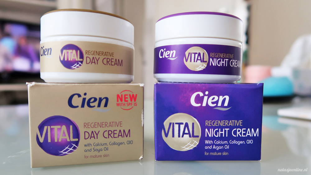 BEAUTY REVIEW | Cien Vital Regenerative dag- en nachtcrème