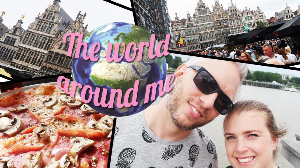 Een heerlijk dagje Antwerpen | The World Around Me #14