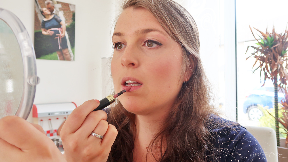 weekend make-up routine max factor lipfinity