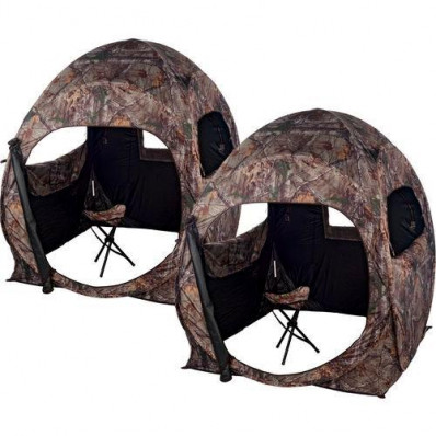 Ameristep 2Person Double Trouble Combo Ground Blind