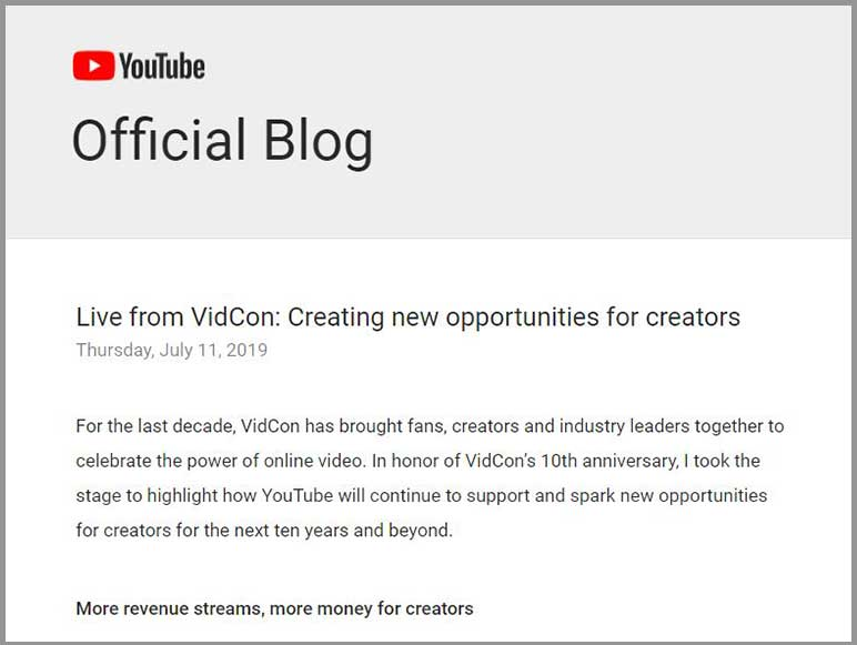 YouTube announces new monetization options for video creators