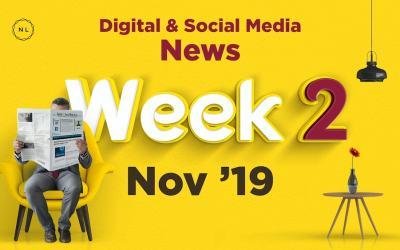 [Week 2, Nov 19] Digital & Social Media News for Nonprofits & Churches