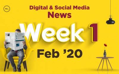 [Week 1, Feb 20] Digital & Social Media News for Nonprofits & Churches