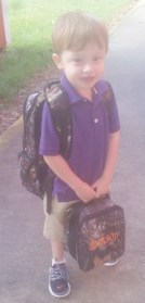 With his back pack and lunch kit, 3-year-old Jackson Durr is another one that is ready for school. Jackson also attends Belmont Union Christian Academy and he is the son of Josh and Maggie Durr of Marthaville.