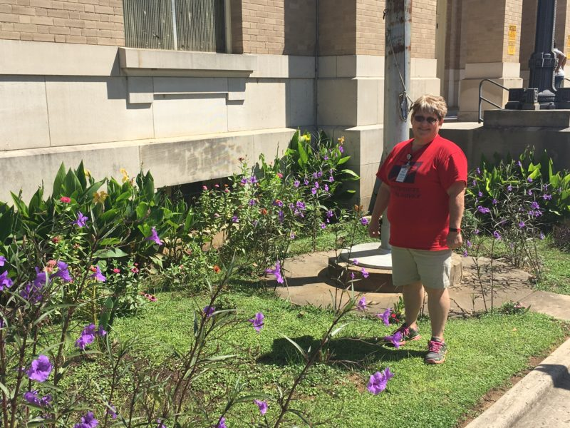 Custodian Beautifies Workplace | Natchitoches Times