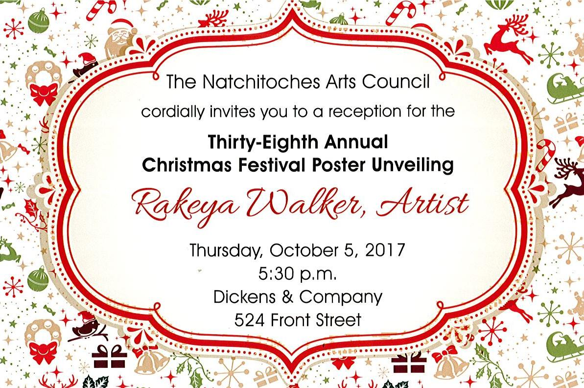 the natchitoches arts council will unveil the natchitoches christmas festival - Natchitoches Christmas Festival