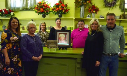 From left are Jeanne's Country Garden employees Sandy Davis, Mary Margaret Nolley, Casey Rachal, Bridget Metoyer, Cass Arnold and owners Terri and Paul Brantley.