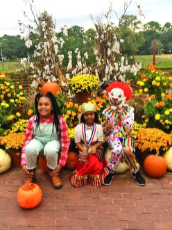 From left are Morgan Sanchez, 11, Addie LaCour, 4, and Brooklyn Johnson, 10.