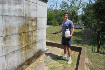 """Hayden Pilcher - """"I've been volunteering with 1 of 7 for two years now. I'm involved with other organizations on campus and I've learned it's really not an obligation to volunteer. As a junior at NSU now, I've learned that it's great to give back."""""""