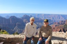Brock and dad north rim