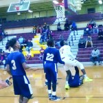 NCHS-Darius Young goes in strong for the score against Avoyelles