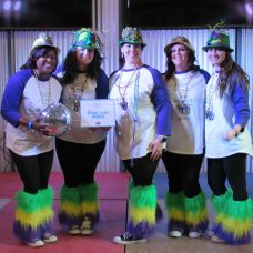 Second Place - Krewe of Funk, BOM Style (Jennifer Sims, Brittany Barton, Sarah Giannone, Natasha Payne and Emily Breedlove)
