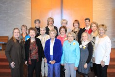 Chapter AP On first row from left are Janice Bolton, Chris Manning, Betty Hertzog, Elizabeth Madden, Marion Johnston and Carolyn Harrington. On second row are Ruth Anderson, Sharon Huey, Mary Lou Brown and Sara Kathryn Ahrens. On third row are Cindy Chester, Sue Weaver, Fran Bernard, Linda Lytle and Susan Long.